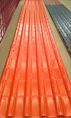 川江红砖红色树脂瓦