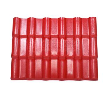 合成树脂瓦产品介绍_大红色