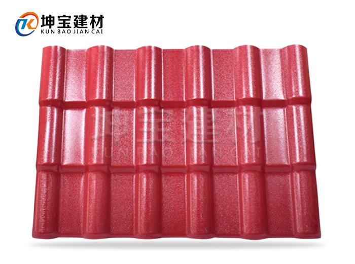 3.0mm厚合成树脂瓦厂家直销