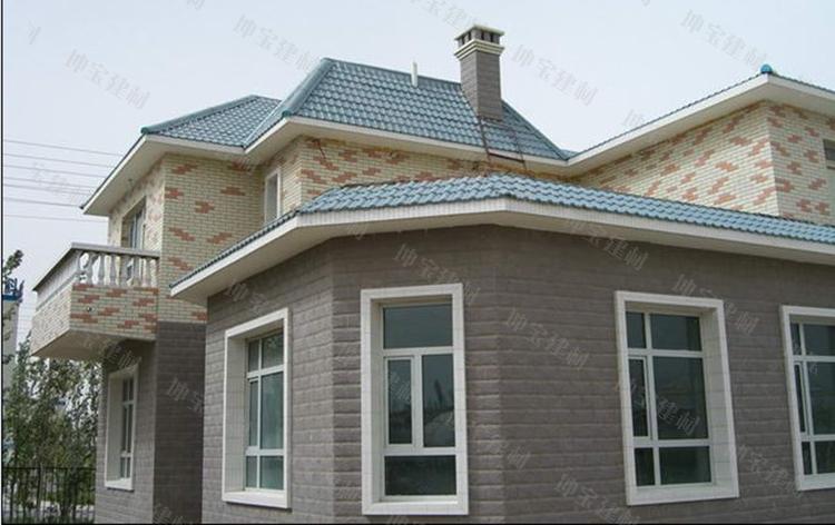 小区和别墅屋面使用秸秆瓦案例