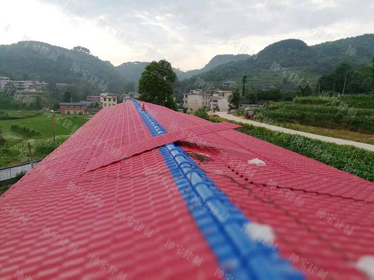 <b>贵州小学屋顶平改坡使用合成万博官网manbetx电脑版瓦</b>