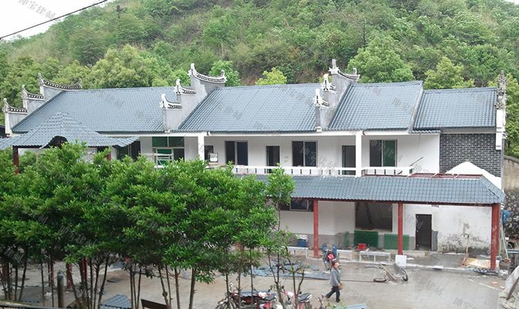 合成树脂瓦让坡屋面重现魅力,使中国的瓦文化得以传承和发展