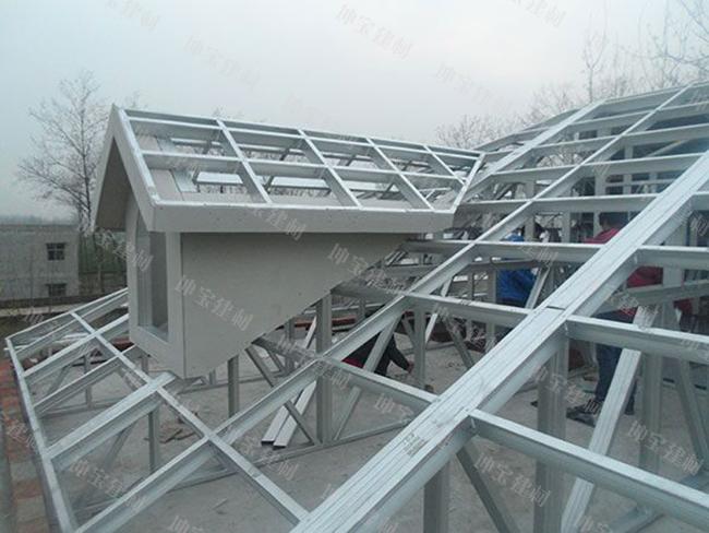 合成树脂瓦屋面檩条间距和檩条铺设图