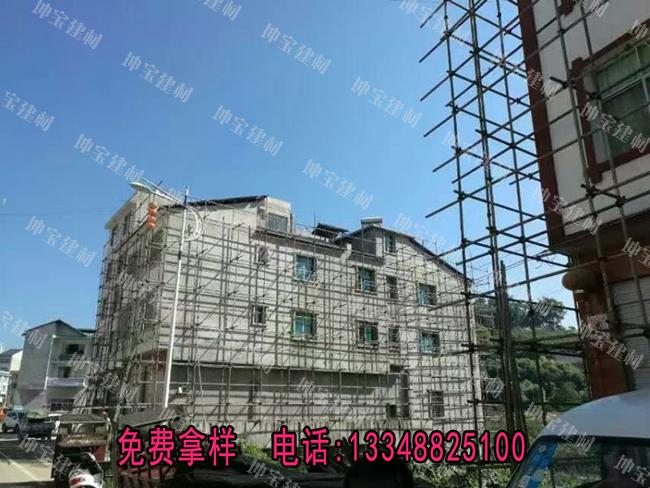 贵州某镇街道风貌改造项目牵手坤宝树脂瓦
