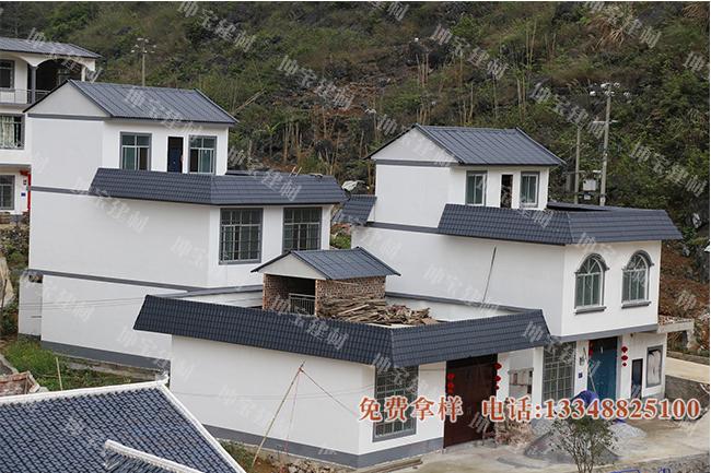 新农村小区屋面盖万博官网manbetx电脑版瓦 绘就美丽乡村幸福画卷