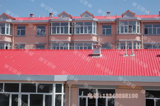 合成树脂瓦成为21世纪的新型环保节能屋面建筑材料
