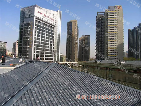 合成万博官网manbetx电脑版瓦成为21世纪的新型环保节能屋面建筑材料