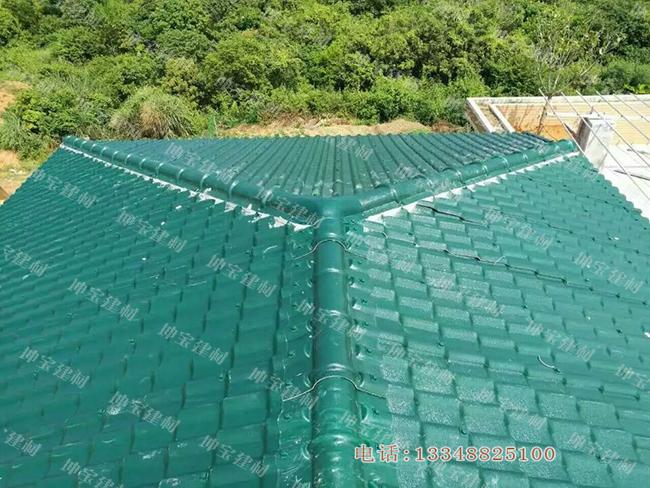 墨绿色合成万博官网manbetx电脑版瓦的屋顶美化之旅