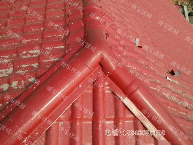 混凝土和水泥屋面安装合成万博官网manbetx电脑版瓦案例