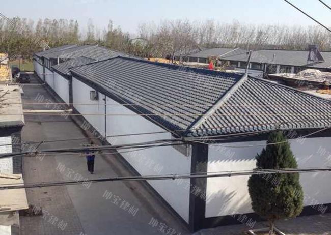 树脂瓦开启30年屋顶防水美化之旅