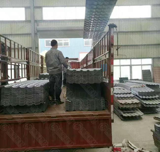 树脂瓦发货之物流装卸问题