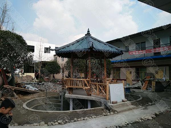 仿古树脂瓦建筑,从古代到现代有着浓厚的文化特色