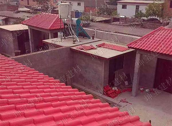 屋面瓦行业的绿色环保建材――秸秆瓦!