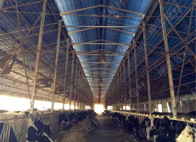 养殖场用秸秆瓦,防腐耐候更耐用!