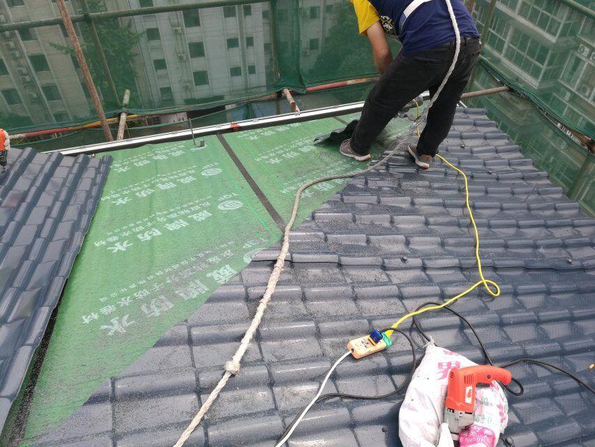合成树脂瓦屋面防水怎么做?「正规树脂瓦安装大全示意图」