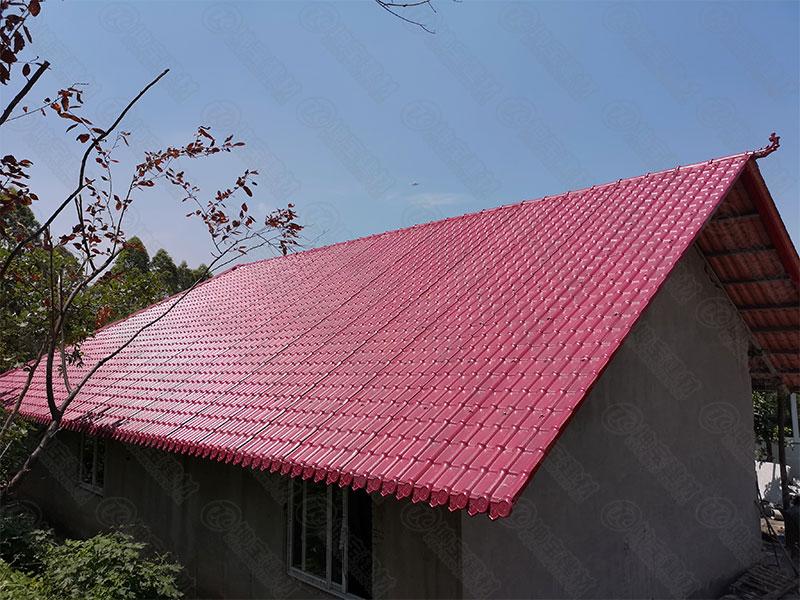 树脂瓦屋顶高清效果图