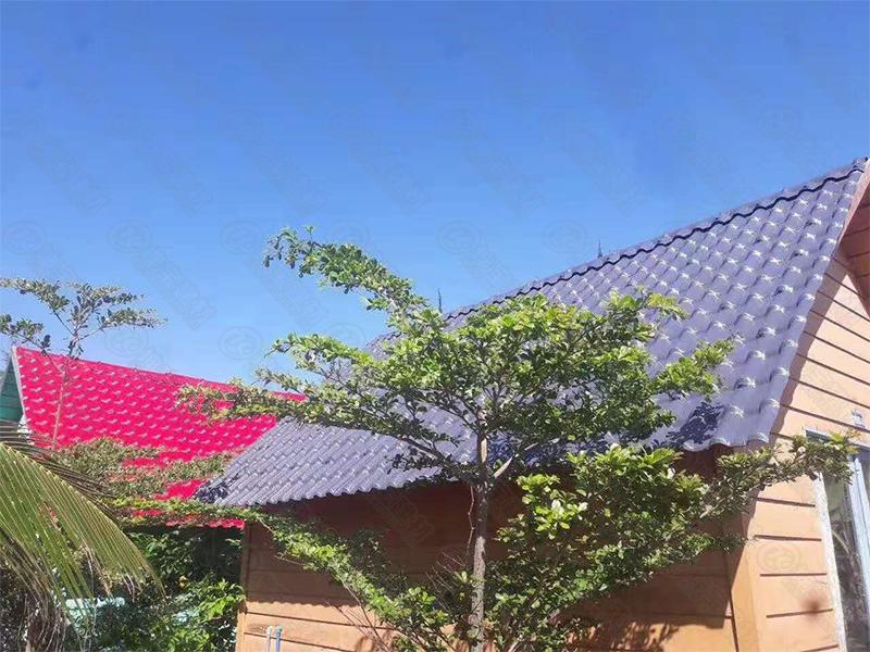 越南搭合成万博官网manbetx电脑版瓦屋面瓦,美观时