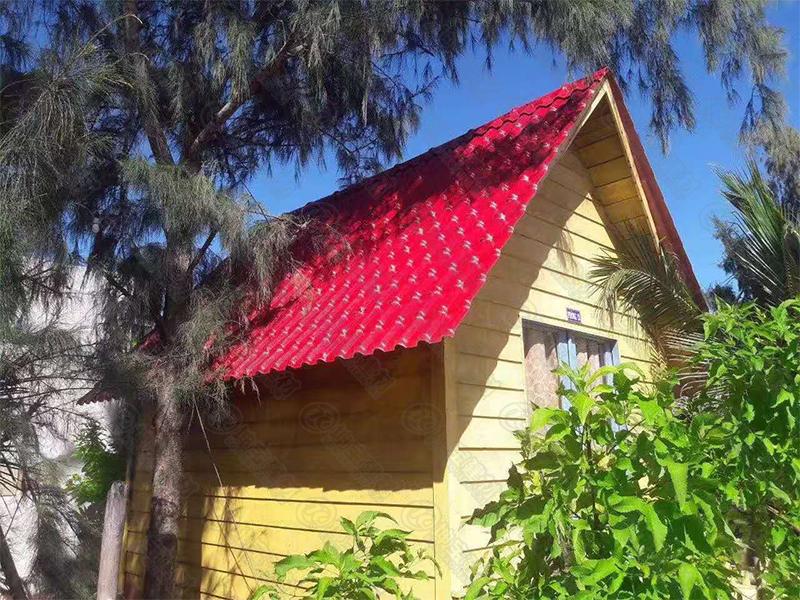 越南搭合成万博官网manbetx电脑版瓦屋面瓦,美观时尚