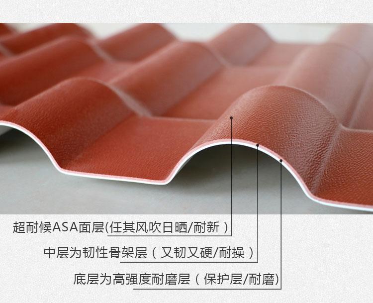 ASA树脂合成瓦屋面防水原理是什么?