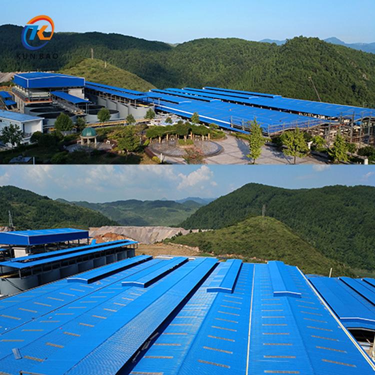 PVC塑料瓦(树脂瓦)屋面防腐隔热的优势