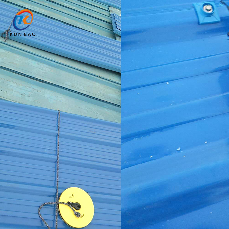 PVC塑料瓦(树脂瓦)显著的防腐性能