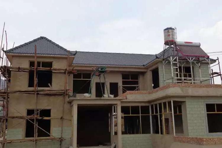 树脂瓦钢结构住宅与木结构房屋的差异