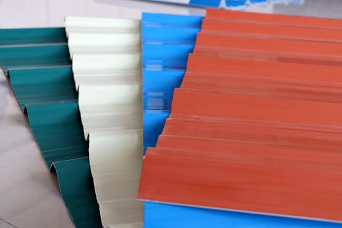 PVC防腐塑钢瓦有哪几种类型?