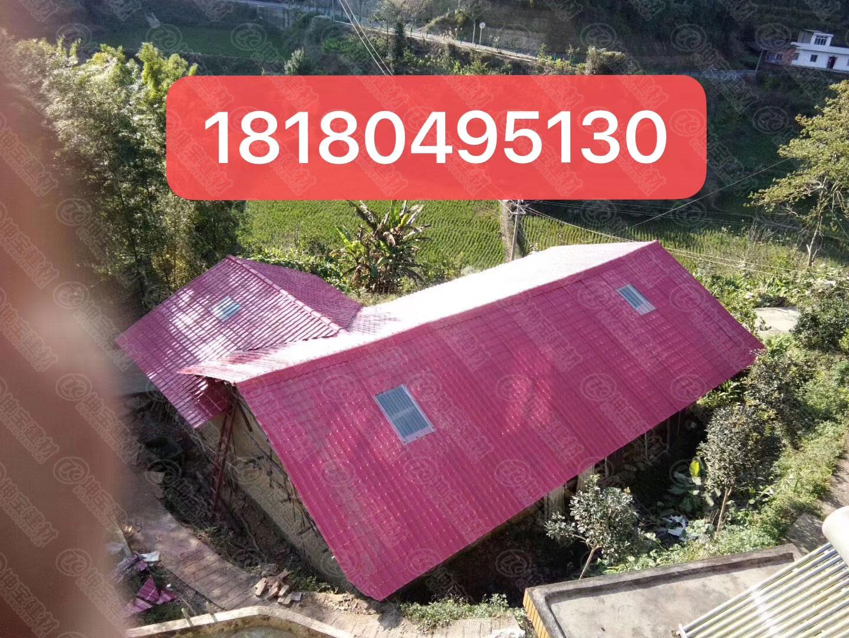 农村房屋屋顶漏雨问题没法解决?合成万博官网manbetx电脑版瓦厂家来帮您