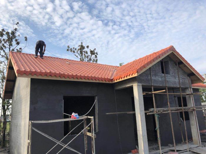 别墅屋顶装饰满足合成树脂瓦-超乎想象的美丽!