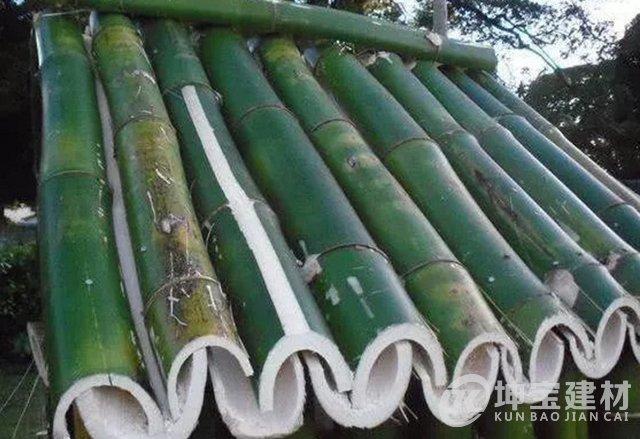 竹子制作的屋面是怎样排水和防水?