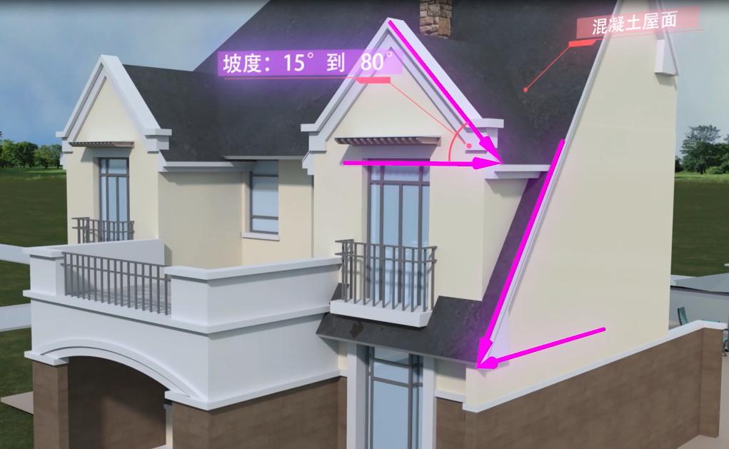 沥青瓦安装视频工序-轻钢别墅屋顶沥青瓦