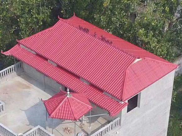 自建别墅屋顶的最佳坡度是多少 - 南方瓦房坡面屋顶怎么算