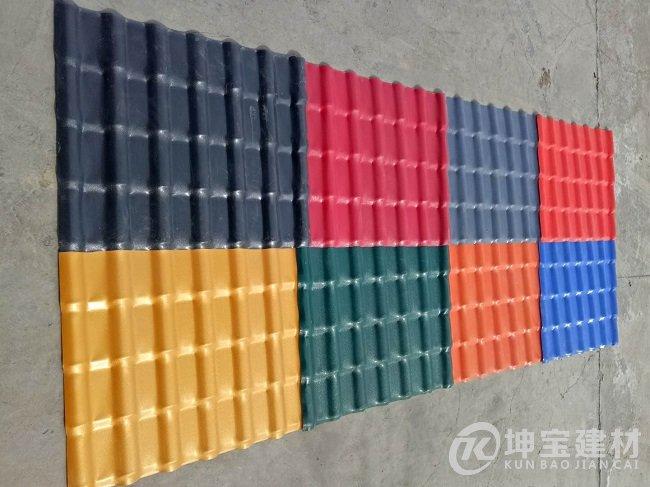 新疆树脂瓦厂家直销(图3)