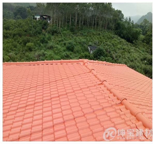 新建房屋顶用树脂瓦还是彩钢瓦,选对了就能节约一两千元