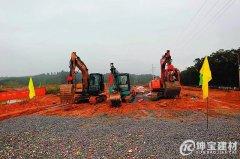 上林县树脂瓦一批重大项目开竣工