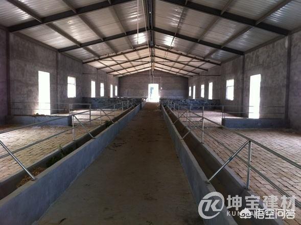 新建养殖场,用彩钢瓦怎么样?对养殖有影响吗?