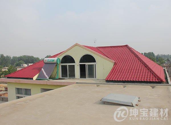 屋顶合成树脂瓦