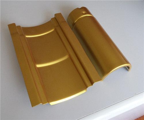 仿古金属瓦价格 - 铝瓦多少钱一平方米